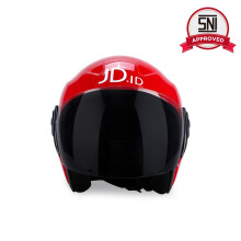 JD.ID Joy Helmet Half Face - JD Red