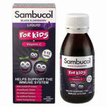 Original Sambucol Black Elderberry For Kids Vitamin C