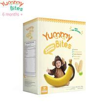 Yummy Bites Baby Rice Cracker 50 gram (Banana)