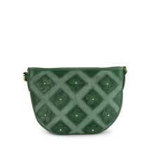 Gobelini Dicondra Shoulder Flower Bag Green