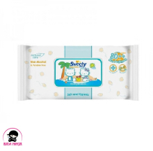 SWEETY Baby Wipes Non Perfume 80 s