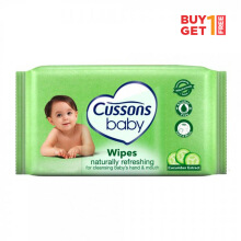 CUSSONS BABY Wipes Naturally Refreshing 10'S - buy 1 get 1