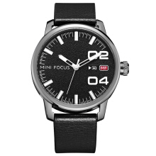MINIFOCUS business Korean fashion waterproof trend belt watch