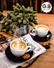 GB Bistro & Dessert 2 Coffee E-Voucher Value Rp 73.220