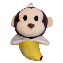 COZIME Whale/Monkey PP Cotton Animal Toy Doll Lovely Pendant Car Home Decoration Multicolor