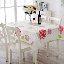 【Jingdong Supermarket】 Qing reed tablecloth tablecloth frosted transparent waterproof dust sunflower 180 * 130cm
