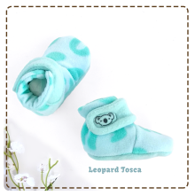 [free ongkir]Cuddle Me Sepatu Bayi Fitted Booties - Leopard Tosca