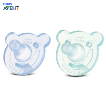 Aosen Philips Avent SCF194/04 2pcs Baby Nipples Pacifier Silicone BPA Free Soother  Blue Green
