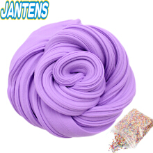 Jantens  Fluffy Foam Slime Clay Ball Supplies DIY Light Soft Cotton Charms Slime Fruit Kit Cloud Craft Antistress Kids Toys