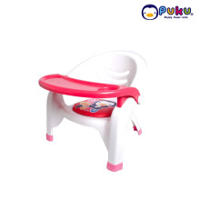 Puku Baby Plastic Arm Chair ( baby seat ) 30312 RED