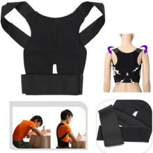 Farfi Back Posture Therapy Corrector Support Correction Lumbar Shoulder Brace Belt as the pictures
