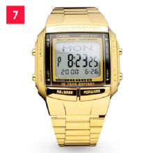Casio DB-360G-9A Sports waterproof electronic watch-Golden