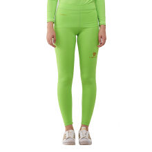 Tiento Baselayer Compression Legging Long Pants Green Stabilo Celana Panjang Ketat Olahraga