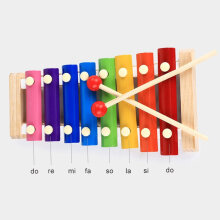 [OUTAD] Octave Hand Knock Piano Children Piano Musical Toys Early Educational Toy Multicolor
