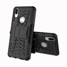 MOONMINI Dual Layer TPU + PC Hybrid Cover Shockproof Anti-scratch Protective Shell with Kickstand for Vivo V9