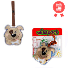 Okiedog Wildpack Luggage Tag Dog Color Cream