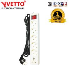 VETTO V8206 STOP KONTAK SWITCH UNIVERSAL 3 M