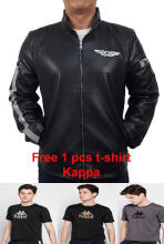 Kappa Delta Mens Jacket Sport Logo Wings - Black