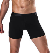 mokoado Fashion Men's Sports Long Running Wear Leg Multi-function Boxer Briefs