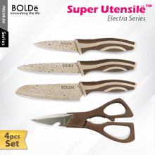 BOLDE Super Utensil Knives Set 4 Pcs