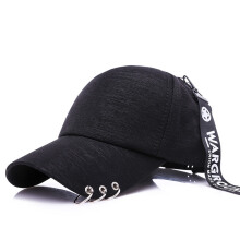 SiYing fashion solid color three ring hoop visor baseball cap female cap