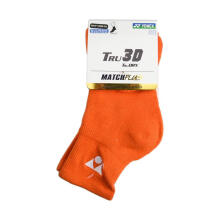 YONEX Match Plus Men's Socks 1/2 Regular - Orange [Pair] SSMP 1055S-SR CO