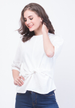 INSTYLE BY SURI-Vodka Top white White All Size