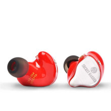 TFZ Secret Garden 1 HD HiFi In Ear Monitor Earphone with Detachable Cable - Red