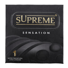 SUPREME KONDOM Sensation 1pcs