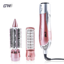 Shengmeiid GUOWEI Hair Dryer Machine Comb 2 in 1 Multifunctional Styling Tools Set Hairdryer PINK