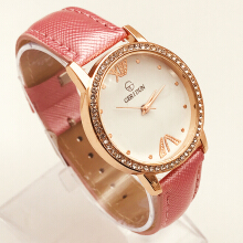 Jam Tangan Wanita Geridun Leather - Quartz