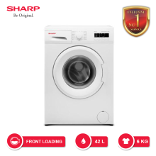 SHARP Mesin Cuci Front Loading Boomerang Series 6KG -  ES-FL862 [SHARP EXCLUSIVE SERVICE]