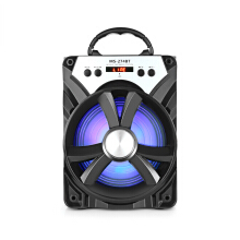 AOSEN MS - 274BT Bluetooth Portable Speaker with LED Lights 6.5 inch Driver Unit Black
