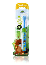 Little Tree Toothbrush 3-6 Years - Blue/Green 23 gr