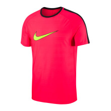 NIKE As M Nk Dry Acdmy Top Ss Gx2 - Laser Crimson/Black/(Volt)