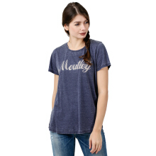 MOUTLEY Ladies Tshirt 1812 318121722 - Blue