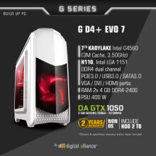 DIGITAL ALLIANCE G D4+ EVO 7 with HDD 2TB - White