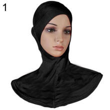 Farfi Women Full Cover Inner Muslim Cotton Hijab Cap Islamic Head Wear Hat Underscarf
