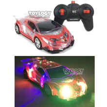 Toylogy - Mainan Anak Mobil Remote Radio Control Rc Roadster Racing Car 4D Light