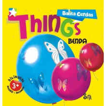 Board book Balita Cerdas 2 Bahasa : Things - A. Sitaresmi -  9786020461908