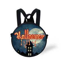 [COZIME] Small Round School Bag Dual-use Boys Girls Backpack Halloween Gift For Kid Others1