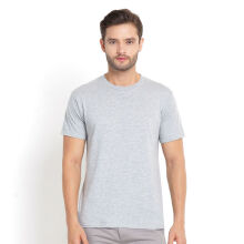 STYLEBASICS Men's Round Neck Basic T-shirt - Misty Grey