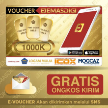 EmasDigi - Voucher Value Rp 1.000.000