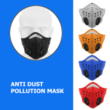 Zanzea 0051Half Face Mask Mouth Anti Dust Pollution Filter Sport Cycling Bicycle Motorcycle Orange