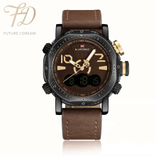 PEKY NAVIFORCE Mens Watches Top Military Quartz  Sport Waterproof Watch