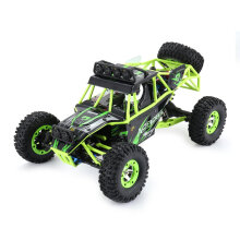 COZIME Wltoys 12428 1/12 2.4G 4WD Electric Off-road Rock Climbing Crawler RC Car Green1 EU