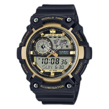 Casio AEQ-200W-9AVDF Water Resistant 100M Resin Band [AEQ-200W-9AVDF]