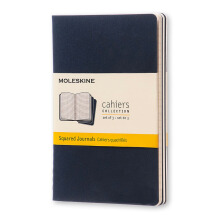 MOLESKINE Cahier Squared - Navy - Pocket - CH212F