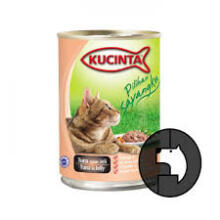 KUCINTA 400 gr cat tuna In jelly