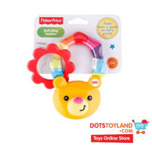 Fisher Price Soft Ring Teether Bear